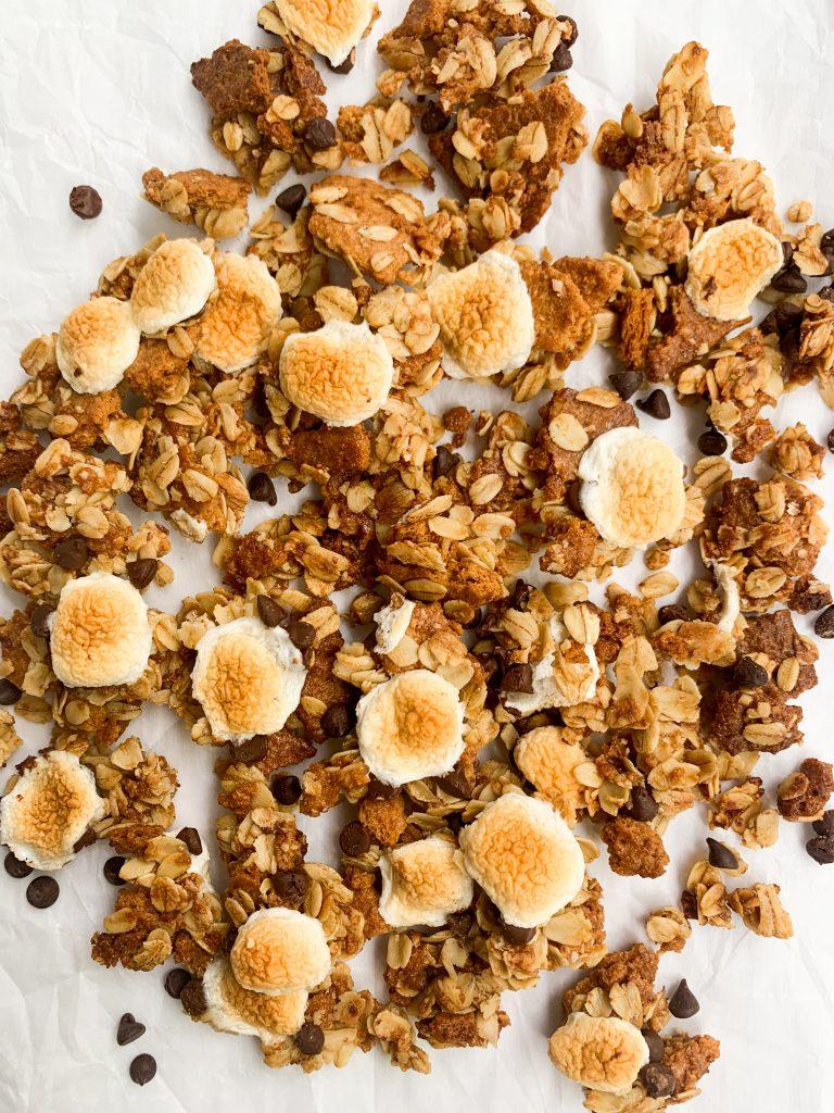 s'mores dessert granola