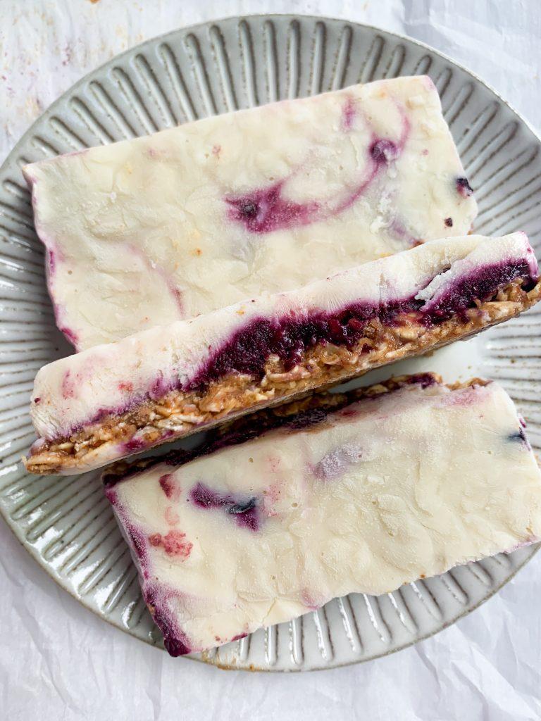 healthy frozen yogurt bars
