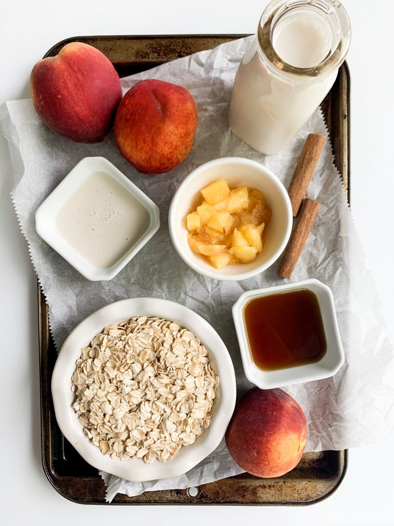 peaches and cream oatmeal ingredients