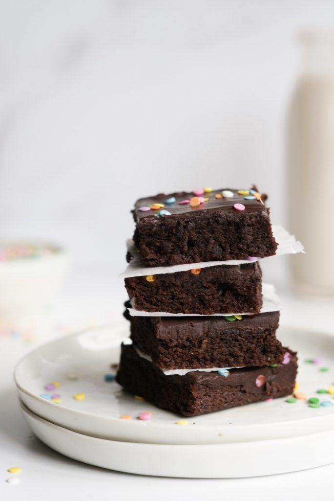 gluten free copycat cosmic brownies