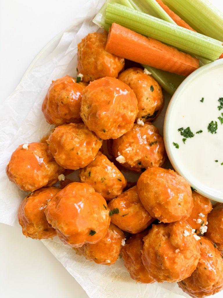 Frank's Red Hot Buffalo Chicken Meatballs