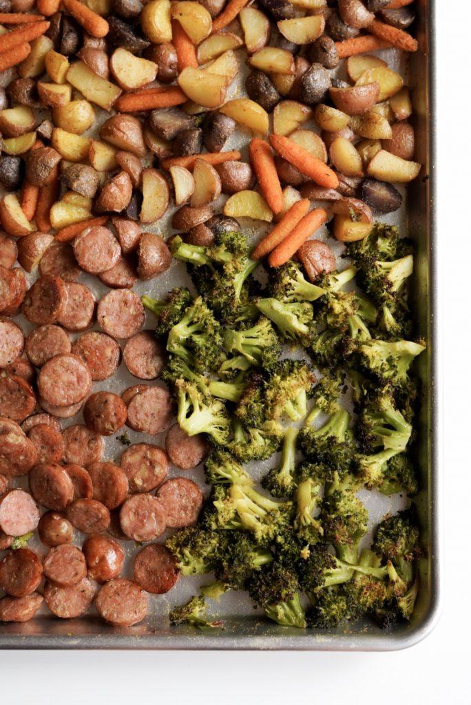 easy & healthy sheet pan dinner