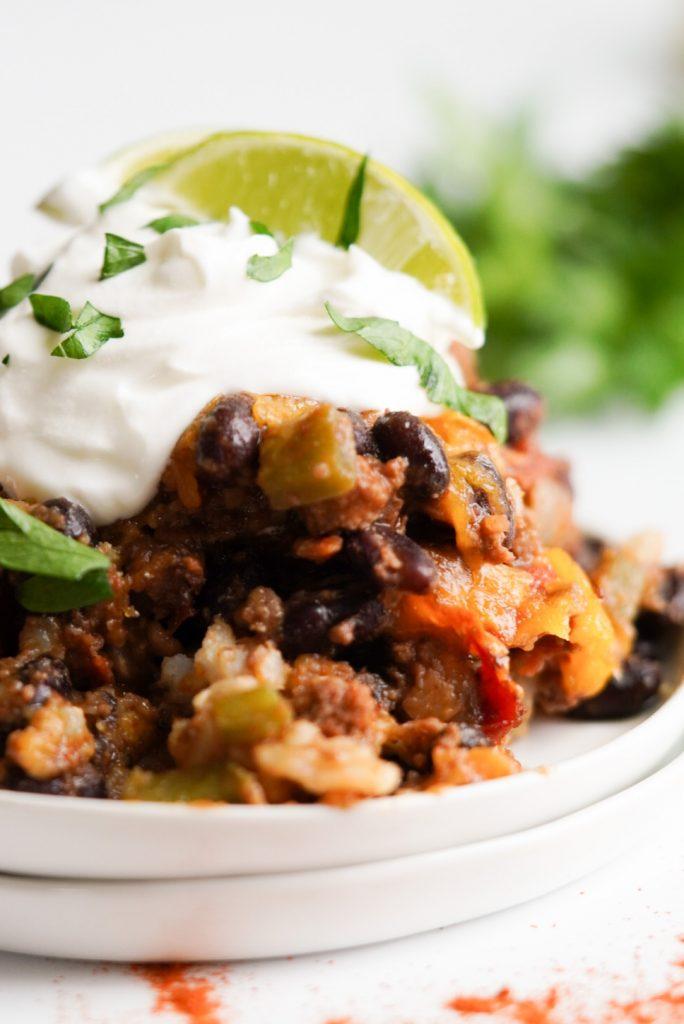 health taco bake